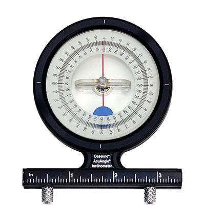 Das angeleinigte Inclinometer