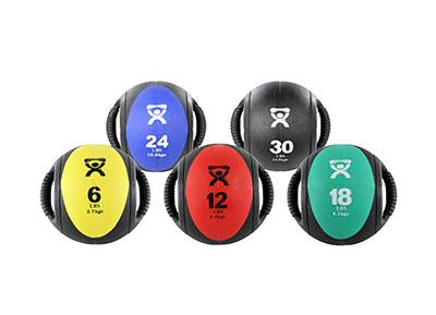 CanDo® Dual Handle Medicine Balls