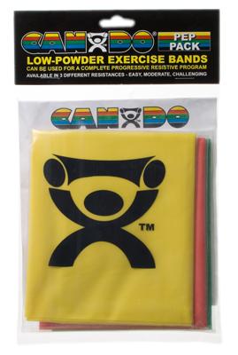 CanDo® Übungsband und Tubing Retail Packs