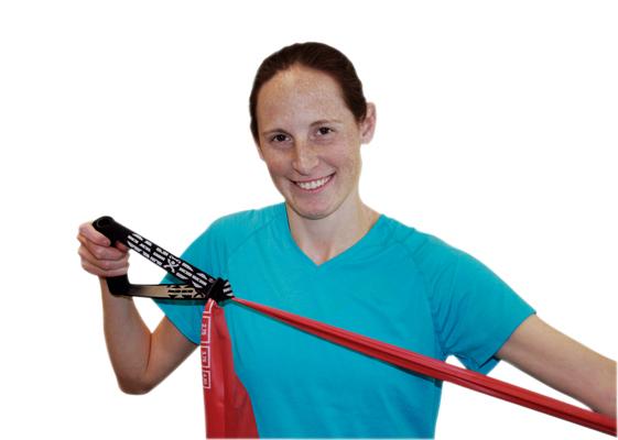 Übung Band und Röhrenklebel und Anchors