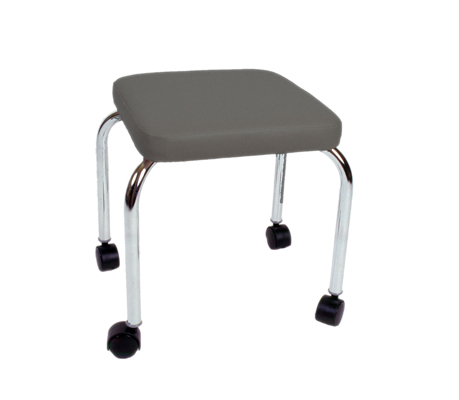 Fixed Square Top Stool