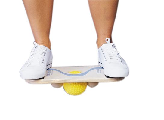 Verschiedene Balance Boards/Pads