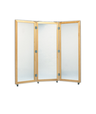Plattenglas-Stationäre Spiegel