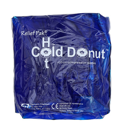 Relief Pak® Cold n ' Hot® Donut® Compression Sleeve