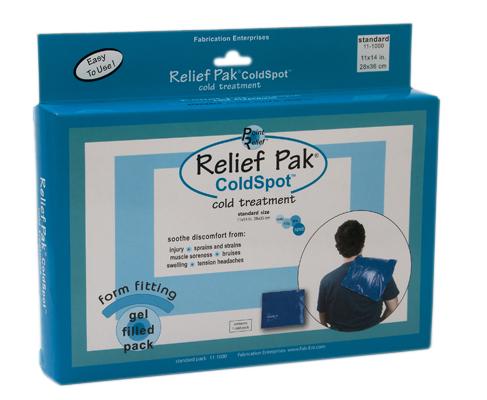 Relief Pak® ColdSpot™ Blue Vinyl Packs