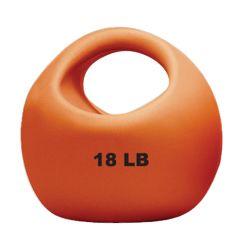 CanDo® Ein-Griff-Medizinball - 18 lb - Gold