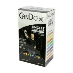 CanDo® Low-Powder-Übungsband - 30er-Packung, 5' Länge - Schwarz - x-schwer