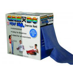 CanDo® Latexfreies Übungsband - 100 Yard Perf 100® Rolle - Blau - schwer