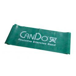 CanDo® Low Powder Übungsband - 5' Länge - Grün - mittel