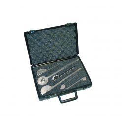Baseline® Metall-Goniometer - 6-teiliges Set