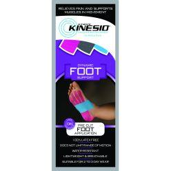 Kinesio®-Band-Zuschnitte, Fuß, einzeln