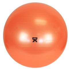 "CanDo® Aufblasbarer Gymnastikball - Orange - 22"" (55 cm)"