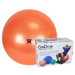 """CanDo® Aufblasbarer Gymnastikball - Orange - 22"""" (55 cm), Einzelhandelskarton"""