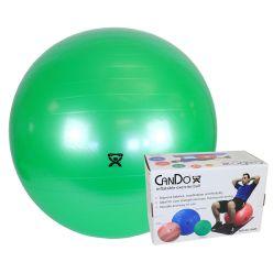 """CanDo® Aufblasbarer Gymnastikball - Grün - 26"""" (65 cm), Einzelhandelskarton"""