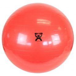 "CanDo® Aufblasbarer Gymnastikball - Rot - 30"" (75 cm)"