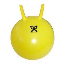 "CanDo® Aufblasbarer Übungs-Sprungball - Gelb - 16"" (40 cm)"